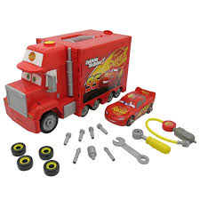 Disney Pixar Cars 3 Mack's Mobile Tool Center Playset - Toys