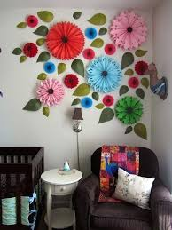 Wall Decoration Ideas With Paper Craft High School Mediator Step By For
