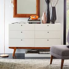 6 Drawer Dresser With Mirror by Modern 6 Drawer Dresser West Elm