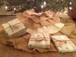 White Christmas Tree Skirt Walmart by Decorating Nice Burlap Tree Skirt For Modern Living Room Design