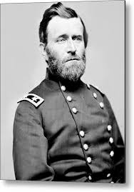Ulysses S Grant Metal Print Featuring The Photograph President In Uniform By International