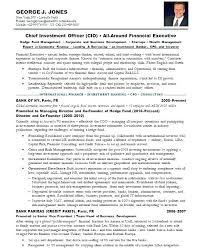 Sample Investment Banking Resume For Freshers Banker Examples Bank Awesome