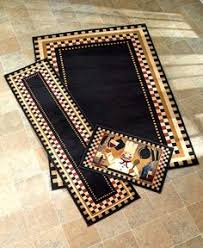 Chef Themed Kitchen Rugs Accent Runner Area Stain Resistant