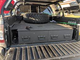 Truck Bed Drawer System | Tacoma World Buyers Products Company Diamond Tread Alinum Underbody Truck Box Standard Service Bodies Knapheide Website 042014 F150 Decked Bed Sliding Storage System 65ft Work Trucks Archives Trucksunique Shop Loadngo 8ft Pullout Parts Drawer For Pickup Ford Ranger Pj Pk Dual Cab Grunt 4x4 Rear Drawer System Ebay Adventure Retrofitted A Toyota Tacoma With Bed And Drawer Better Built Silver Short Suv Tool 26in Drawers Northern Equipment Police Series Ops Public Safety 72019 F250 F350 Organizer Deckedds3 2005