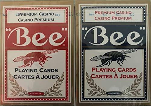 Bee Poker Playing Cards - Club Special