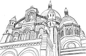 Basilica Of The Sacred Heart More Coloring Pages