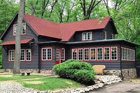 Cabin Style Homes Colors Log Cabin Paint Colors Inspiring Interior Color For Style