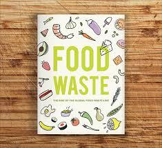 Food Waste Pamphlet Design Inspiration