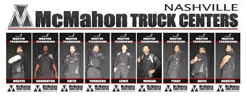 McMahon Truck Centers Of Nashville Honors Master Techs - McMahon Trucks