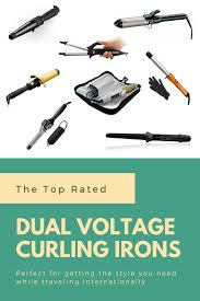 Bed Head Dual Waver by The Best Dual Voltage Curling Irons 2017 Travel Curling Irons