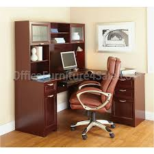 Realspace Broadstreet Contoured U Shaped Desk Cherry by Magellan L Shaped Desk Manual Best Home Furniture Decoration