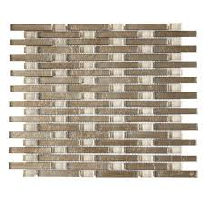 Jeffrey Court Mosaic Tile by Jeffrey Court Sphynx 11 In X 13 25 In X 8 Mm Glass Mosaic Wall