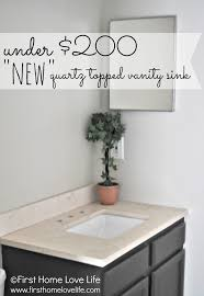 Allen And Roth Bathroom Vanity by Bathroom Vanity With Quartz Counter First Home Love Life