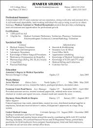 Resume Professional Profile Examples Personal Example Throughout