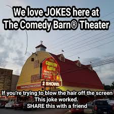 Comedy Barn Theater - Tuis | Facebook The Comedy Canines Starring Miss Ellie At The Barn Theater A Doctor A Lawyer And Preacher Walk Into Youtube Startpagina Facebook Pigeon Forge Things To Do Kidsgatlinburg Shows Discount Tickets To Commercial Meet Cast April Variety Show Is Hilarious That Great For Tn