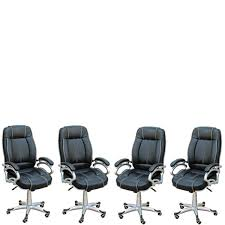 ROMANCHY 4 Pieces Of LILLY Black White Stitch Directors, Executive, Boss,  Conference High Back Office Chair (Set Of 4). Boss Leatherplus Leather Guest Chair B7509 Conferenceexecutive Archives Office Boy Products B9221 High Back Executive Caressoftplus With Chrome Base In Black B991 Cp Mi W Mahogany Button Tufted Gruga Chairs Romanchy 4 Pieces Of Lilly White Stitch Directors Conference High Back Office Chair Set Fniture Pakistan Torch Guide How To Buy A Desk Top 10 Boss Traditional Black Executive Eurobizco Blue The Best Leather Chairs Real Homes