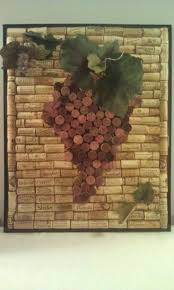 Wine And Grape Kitchen Decor Ideas by Best 20 Wine Cork Art Ideas On Pinterest Corks Cork Art And