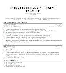 Banking Resume Samples Resumes For Banks Bank Teller Entry Level Position Cv