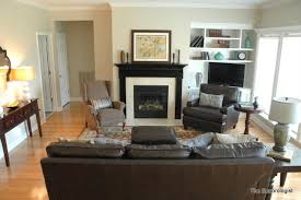 Narrow Living Room Layout With Fireplace by Living Room Arrangements With Fireplace Peenmedia Com