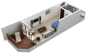 Floor Plan For Studio Apartment Novicme