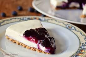 white chocolate cheesecake mit blaubeeren ohne backen