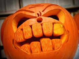 Emoji Pumpkin Carving Designs by Blogger Craft Pumpkin Challenge The Final Outcome Diy Network
