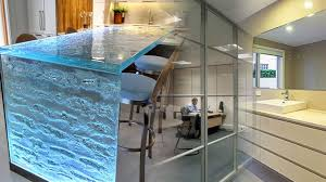 Glass Wall And Counter Top