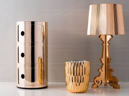 Kartell Bourgie Lamp Silver by Kartell Bourgie Copper
