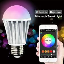 20x magic light bluetooth smart led light bulb ios android