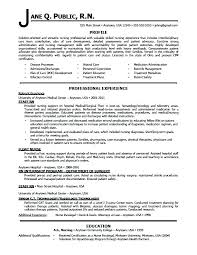 Registered Nurse Resume Examples Australia Sample For Nurses With Experience Nursing E Samples Free