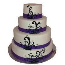 SKU 1367 Categories Anniversary Black Color Colors Purple Purples Wedding Cakes Birthday Girls