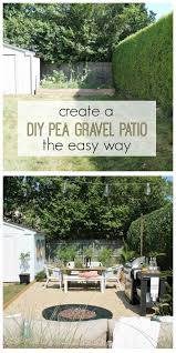 Pea Gravel Patio Images by Create A Diy Pea Gravel Patio The Easy Way City Farmhouse