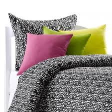 black and white dorm bedding twin xl dorm bedding american
