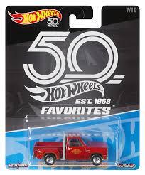 100 78 Dodge Truck Amazoncom Hot Wheels 50th Anniversary Favs Lil Red