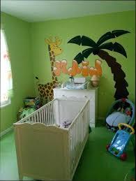 chambre de b b jungle chambre bébé jungle avec decoration jungle chambre bebe collection