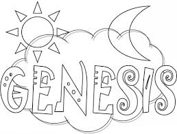 Kidsbibleworksheets Genesis Bible Coloring Pagehtm