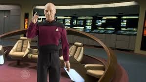 Star Trek Captains Chair by Star Trek The Next Generation Captain Picard 1 6 Scale Figure