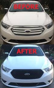 new oem 2013 2016 ford taurus se sel limited front grille