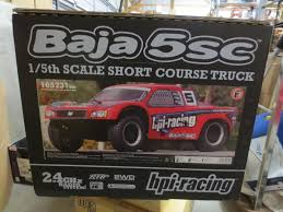 100 Baja Rc Truck HPI RACING 5SC 15 Scale Gas Powered RC HPI105231