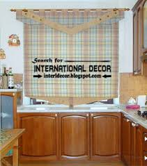 Kitchen Curtains Designs Ideas 2016 Blinds For Kitchens