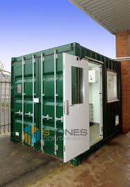 100 Shipping Containers Converted 10ft Shipping Container Converted Into A Chiller Room To Cool Down