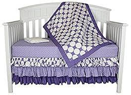 Bacati Crib Bedding by Amazon Com Bacati Zig Zag And Dots 4 In 1 Cotton Baby Crib