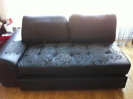 restaurer un canapé photo canape lit