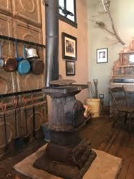 Black Bird Saloon Wood Burning Stove Sit Near Here On A Cold