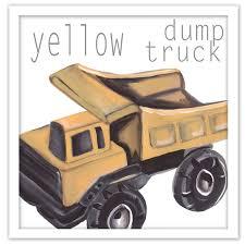 100 Yellow Dump Truck