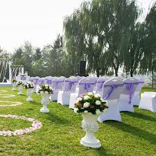 Votown Home Folding Chair Covers Spandex Wedding Party ... 16 Easy Wedding Chair Decoration Ideas Twis Weddings Beautiful Place For Outside Wedding Ceremony In City Park Many White Chairs Decorated With Fresh Flowers On A Green Can Plastic Folding Chairs Look Elegant For My Event Ctc Ivory Us 911 18 Offburlap Sashes Cover Jute Tie Bow Burlap Table Runner Burlap Lace Tableware Pouch Banquet Home Rustic Decorationin Spandex Party Decorations Pink Buy Folding Event And Get Free Shipping Aliexpresscom Linens Inc Lifetime Stretch Fitted Covers Back Do It Yourself Cheap Arch