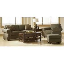 Broyhill Laramie Microfiber Sofa In Distressed Brown by Broyhill Wayfair