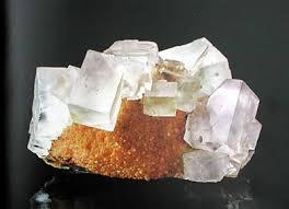 le de cristal de sel cristaux cristallisation et géométrie cristalline