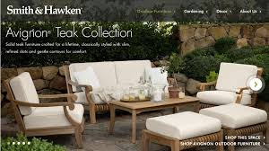 smith and hawken teak patio furniture fpudining