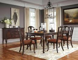 9 Piece Dining Room Brown Set Tables Sets